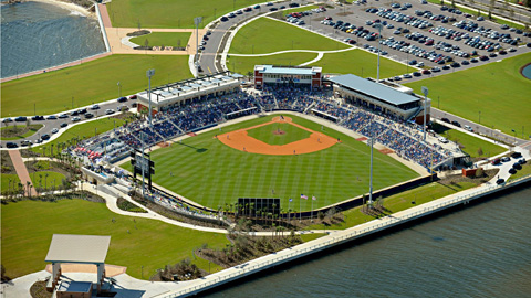 The Southern League announced the Blue Wahoos as the Don Mincher Organization of the Year.