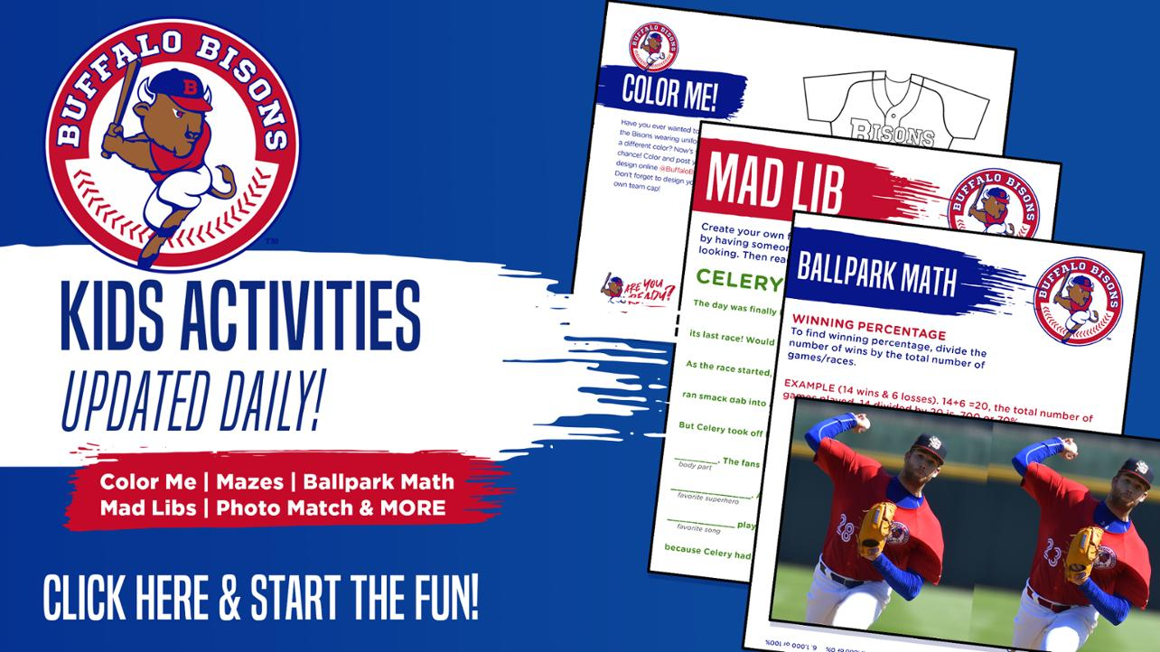 Kids Activity Page