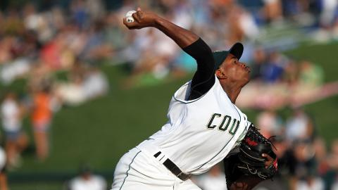 2011 Cougar Yordano Ventura made his big league debut with the Kansas City Royals on September 17. He became the 124th former Cougar to reach the Major Leagues.