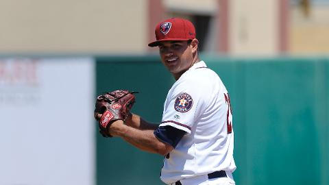 Tyson Perez allowed two runs over three innings and picked up the loss on Thursday.