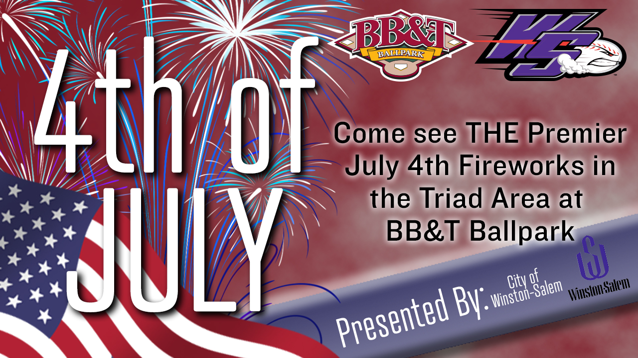 City Of Winston Salem >> City Of Winston Salem Dash To Host Fourth Of July