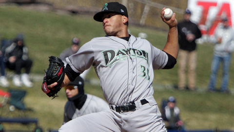 Ismael Guillon ranks third in the Midwest League with 71 strikeouts.