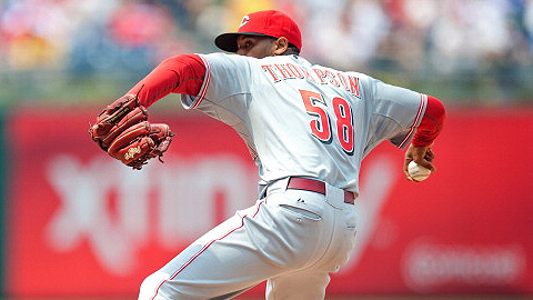 Daryl Thompson last pitched in the Majors in 2011 with the Reds.