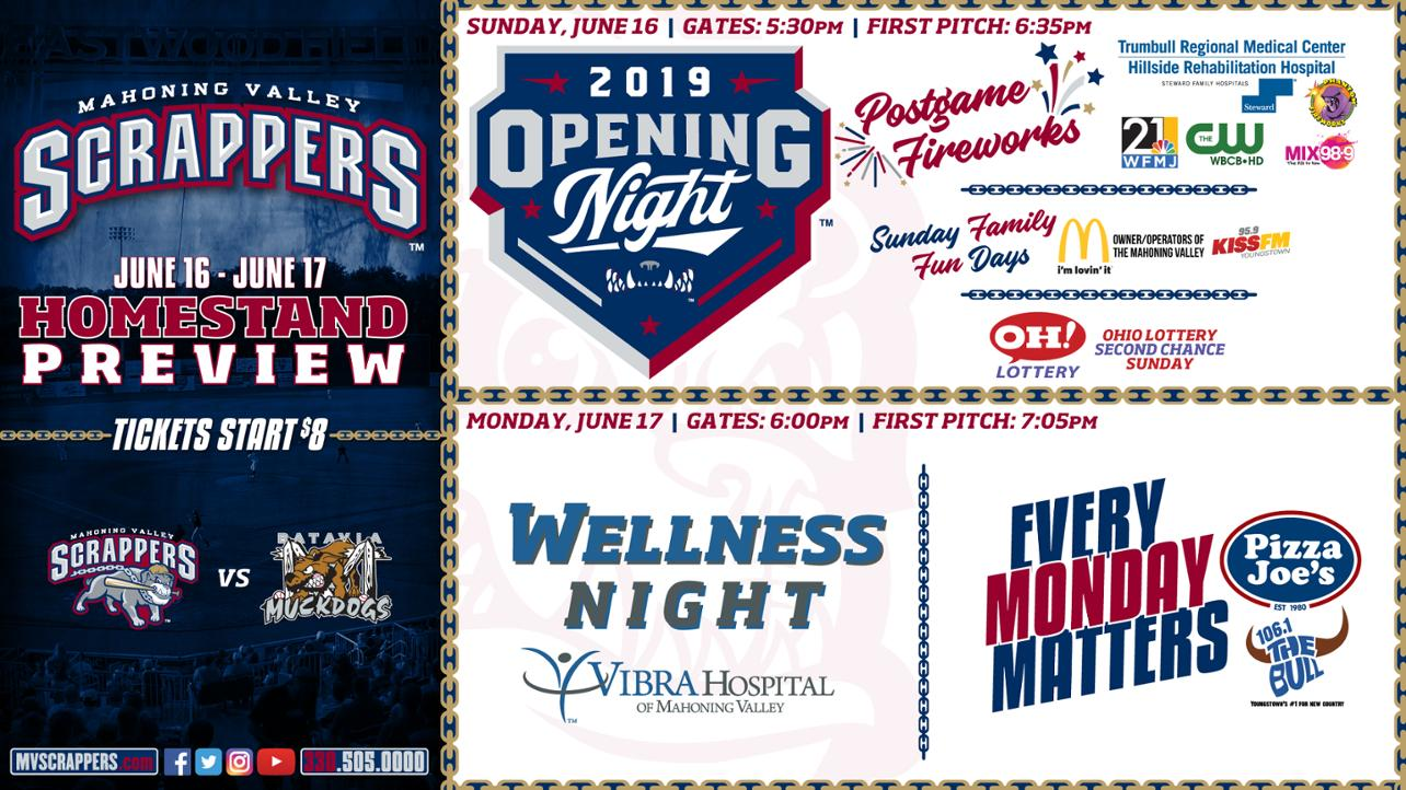 Opening Homestand Preview