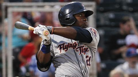 Christin Stewart has a .514 slugging percentage in 199 career games in the Tigers system.