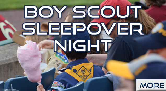 Syracuse Chiefs Boy Scout Night
