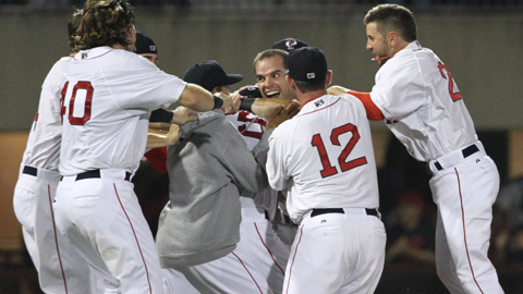 The Red Sox have won 17 of their last 20 games to return to the playoffs.