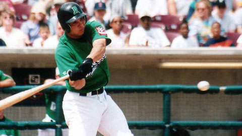 Stephen Smitherman with the Dragons in 2001.