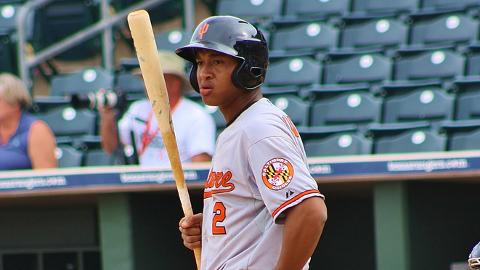 Jonathan Schoop hit 14 homers in 81 Minor League games in 2013.