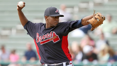 Julio Teheran has a 1.35 ERA and 25 strikeouts in 20 innings this spring.