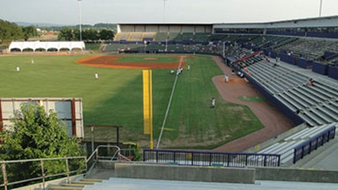 Joe Davis Stadium is the oldest facility in the Southern League but may not be used after 2014.