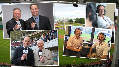Don Orsillo, Dave Jageler, Jeff Levering, Bob Socci and Dan Hoard are among those who have worked the booth in Pawtucket.