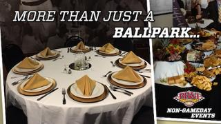 Plan a Legendary event at BB&T Ballpark
