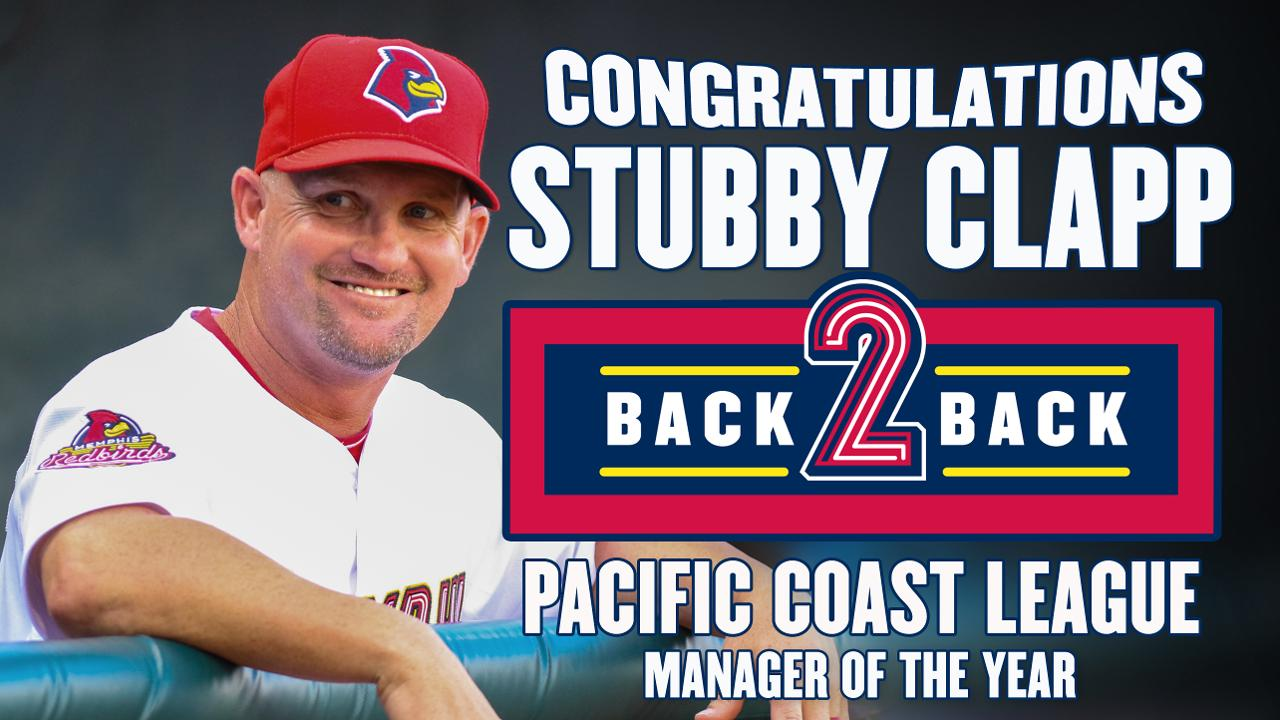 ccbcf67f5d1 Clapp Repeats as PCL Manager of the Year