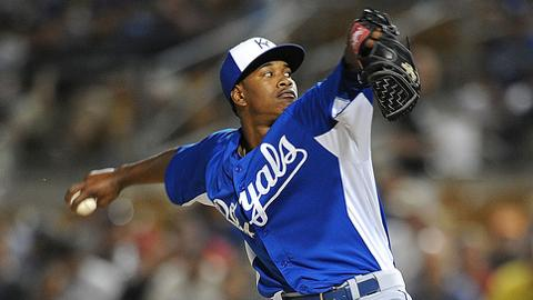 Yordano Ventura threw 88 pitches on Tuesday, 53 for strikes.