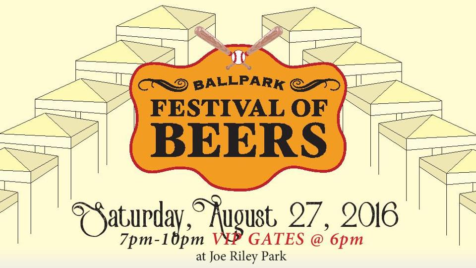 14th Annual Ballpark Festival Of Beers Slated For August 27