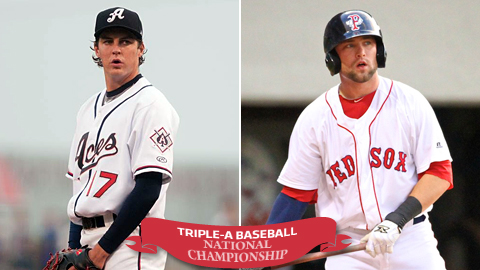 D-backs prospect Trevor Bauer and Red Sox farmhand Bryce Brentz will lead their clubs in Durham.