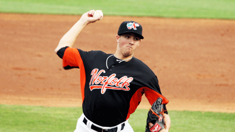 Kevin Gausman took the loss in his Triple-A debut Wednesday night.