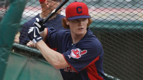 Clint Frazier ranked fourth in the AZL with a .506 slugging percentage this season.