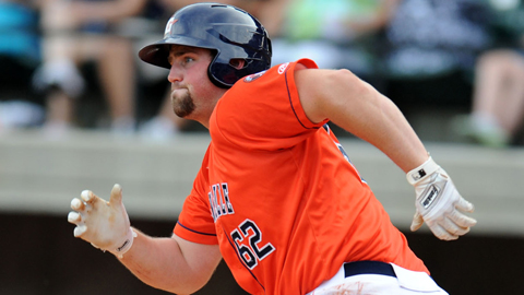 Chase McDonald is hitting .455 in three postseason games.