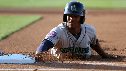 Byron Buxton ranks among the Midwest League leaders in 11 categories.