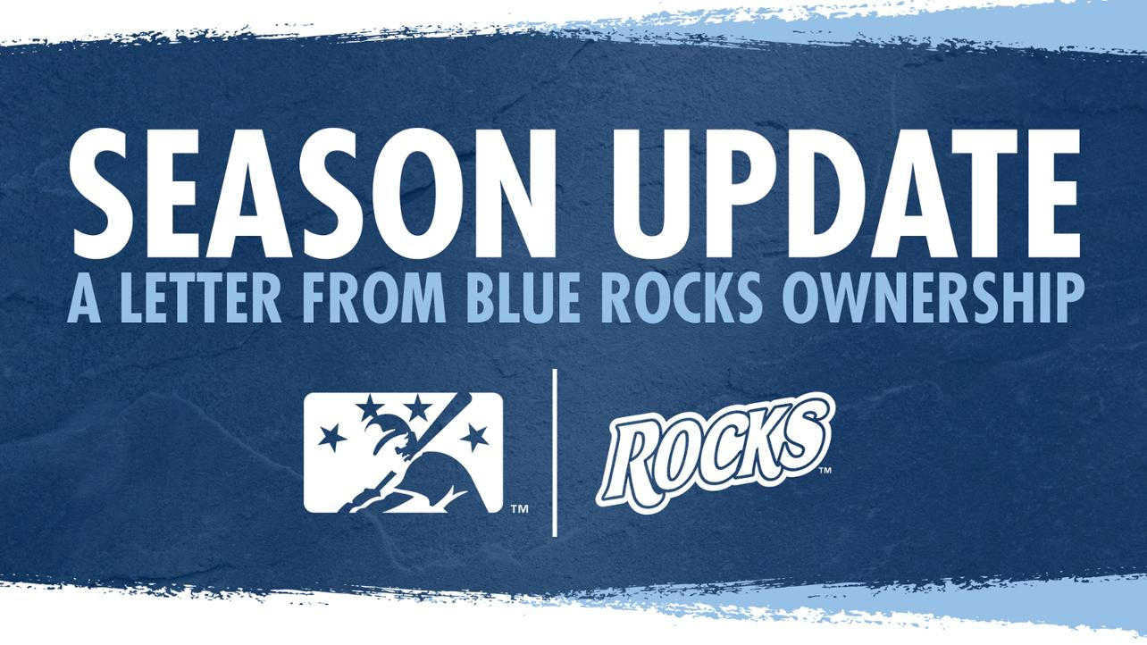 A Letter To Blue Rocks Fans From Ownership