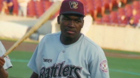 David Ortiz hit 18 homers, including one walkoff homer, for the Timber Rattlers in 1996.