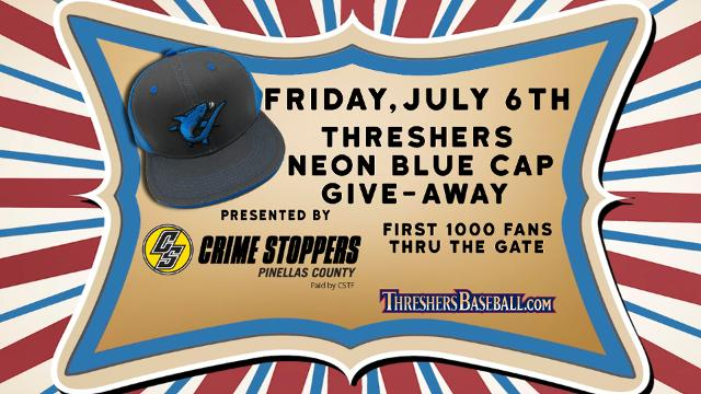 d6661a4ed60 Threshers Neon Cap Giveaway on July 6