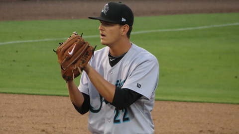 Justin Nicolino leads the FSL this year with a 2.38 ERA in 79 1/3 innings.