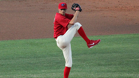 Hoby Milner is second in the Florida State League with 72 strikeouts.
