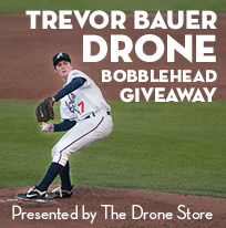 Trevor Bauer Drone Bobblehead Giveaway presented by The Drone Store