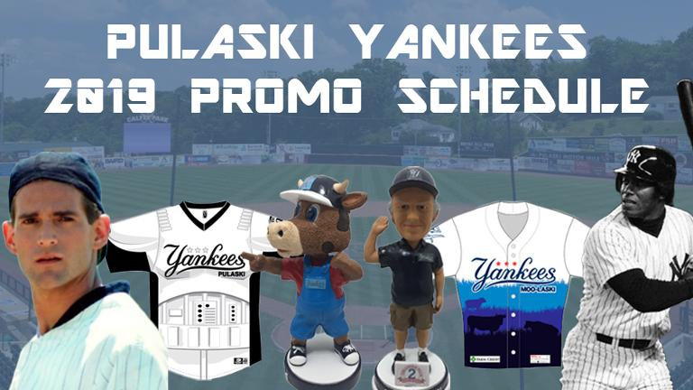 Ag Night 2.0, Ken Griffey Sr., eight giveways highlight 2019 Pulaski Yankees promotional schedule