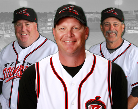 Manager Russ Morman joins Ken Joyce and Ross Grimsley in 2014.