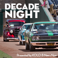 Decade Night presented by KOLO 8 News Now and Channel 2 News