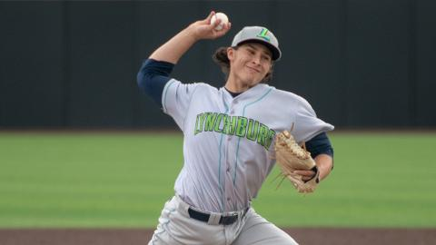 Eli Morgan improved his ERA to 2.62 over his first 34 1/3 innings in the Carolina League.
