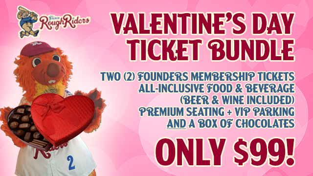 Valentines day ticket bundle on sale now clearwater threshers news by nathan barnett frisco roughriders january 26 2016 1036 am m4hsunfo