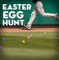 Post-Game Easter Egg Hunt presented by Channel 2 News