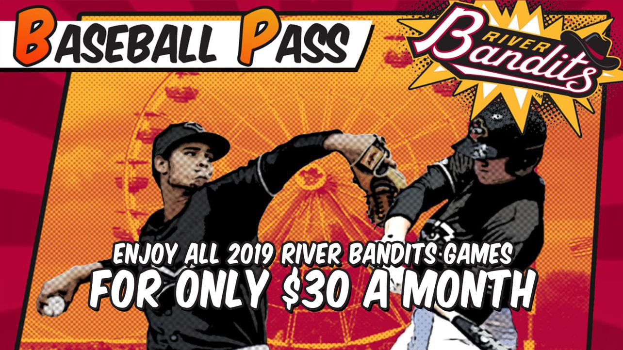 Baseball Pass- Your ticket to EVERY Bandits game!