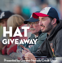Hat Giveaway presented by Greater Nevada Credit Union