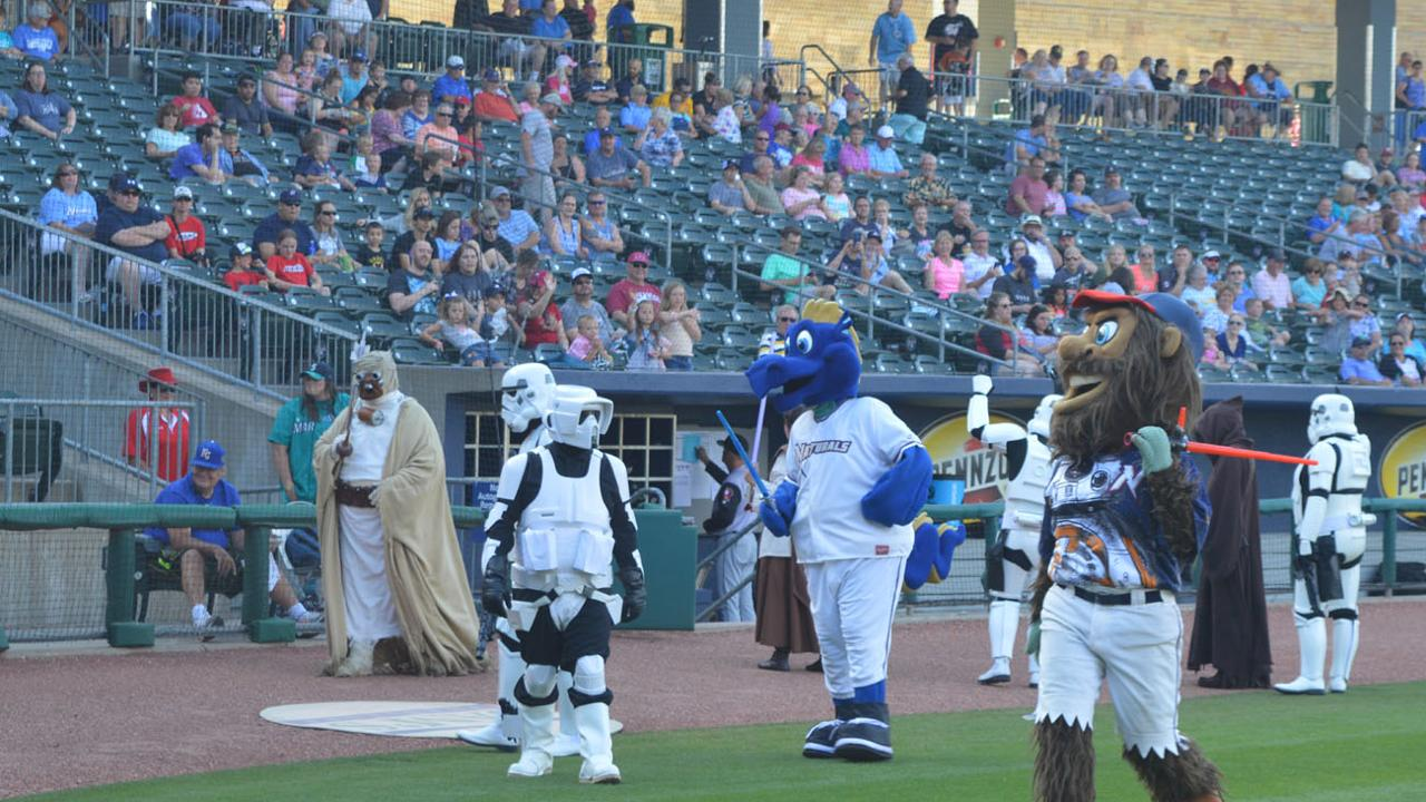 45ef8726f May the Fourth Be With You at Naturals Star Wars Night at Arvest Ballpark  on Friday
