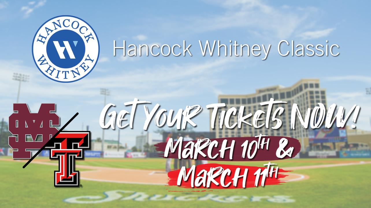 Miss. State vs. Texas Tech Hancock Whitney Classic Tickets