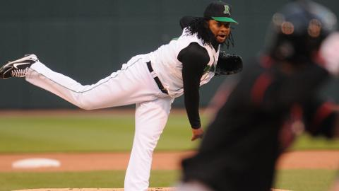 Johnny Cueto takes the mound for the Dayton Dragons Thursday night on Rehab assignment for the Cincinnati Reds