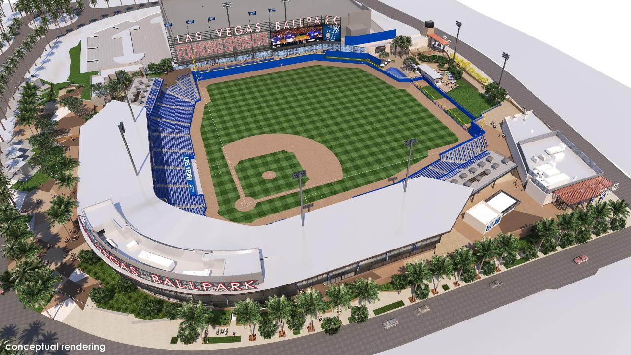 The howard hughes corporation breaks ground on las vegas ballpark new baseball stadium further distinguishes downtown summerlin as a sports and entertainment destination malvernweather Image collections