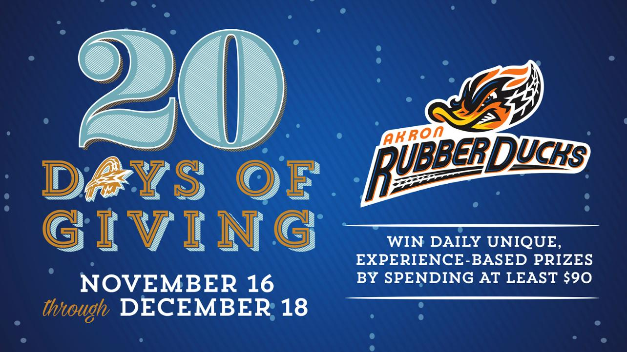 2018 20 Days of Giving