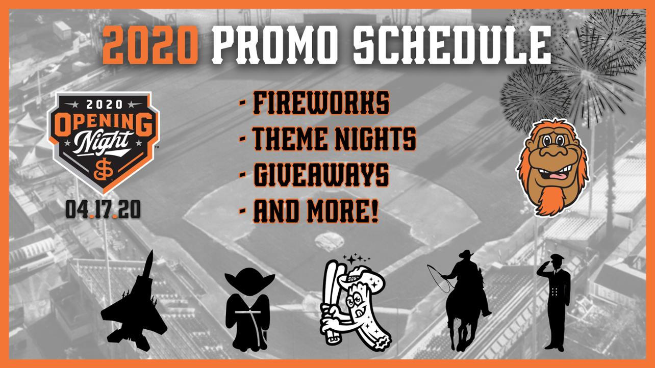 2020 Promotional Schedule Announced