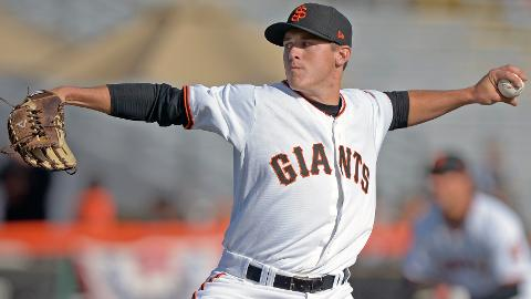 Ty Blach is 11-3 with a league-leading 2.95 ERA in 20 appearances.