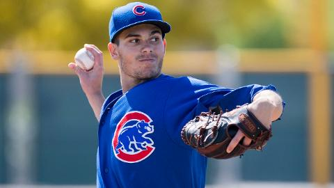 Dylan Cease ranks second in the Midwest League with 37 strikeouts over 23 2/3 innings.