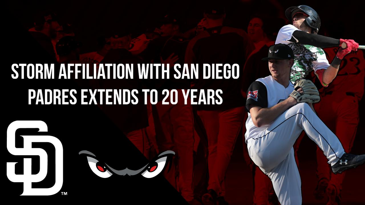 Lake Elsinore Storm Schedule 2020 Storm Affiliation with San Diego Padres Extends to 20 Years   Lake
