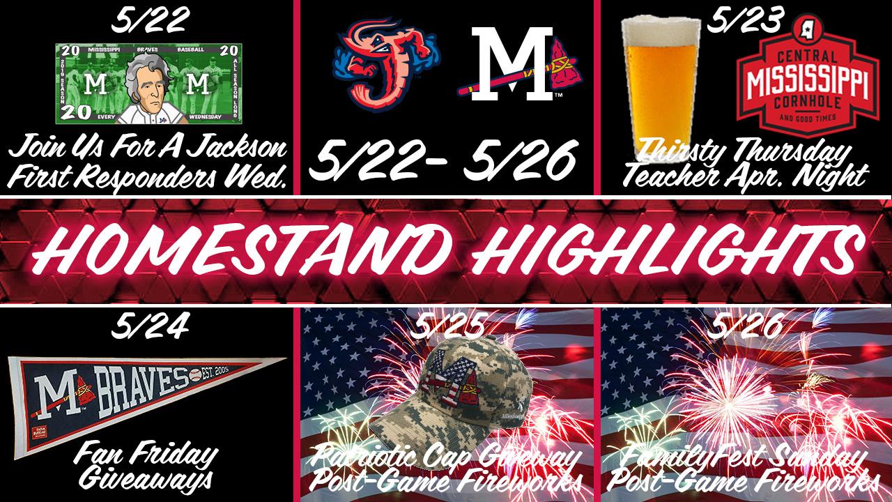Homestand Highlights