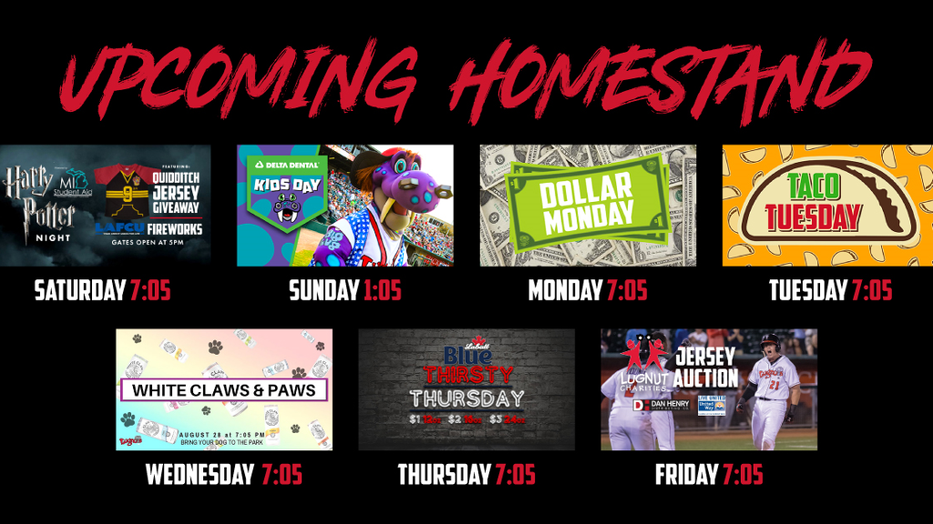 Homestand coming!